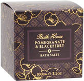 Bath House Pomegranite + Blackberry Bath Salts by 100g Bath Salts)