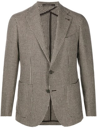 Tagliatore Houndstooth Jacket