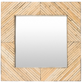 Surya Woodlands Square Mirror