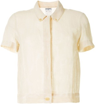 Chanel Pre Owned 1999 Short Sleeve Shirt