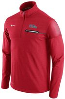Nike Men's Ole Miss Rebels Elite Coaches Dri-FIT Pullover