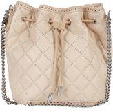 Stella McCartney Powder Falabella Quilted Small Bucket Bag