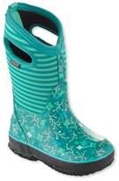 L.L. Bean Kids' Bogs Boots, Classic Flower Stripe