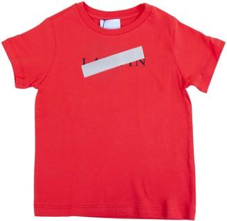 Lanvin Censored Logo Short Sleeve T-shirt