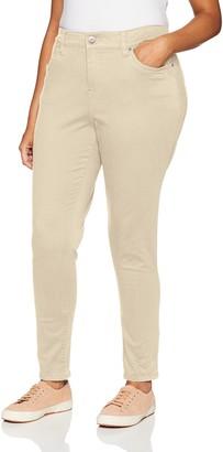 UNIONBAY Women's Size Plus Karma Solid Skinny Pant