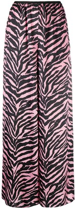 MM6 MAISON MARGIELA Zebra Wide-Leg Trousers