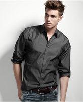 INC International Concepts Shirt, Core Topstitch Shirt