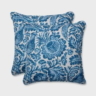 Tucker Pillow Perfect 2pk 18.5 Resist Outdoor Throw Pillow Azure Blue