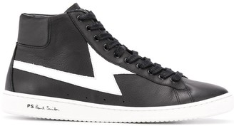 Paul Smith Two Tone High Top Sneakers
