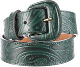 Etro Embossed Leather Belt
