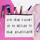 Elsie & Nell 'May Your Future Be As Bright...' Makeup Bag