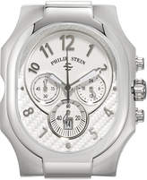 Philip Stein Teslar Large Classic Chronograph Watch Head, Silver
