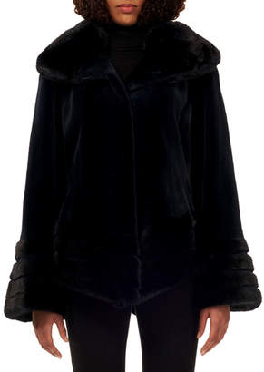 Gorski Reversible Sheared Mink Jacket
