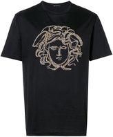 Versace studded Medusa T-shirt