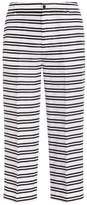 J Brand Caldwell Cropped Stripe Pants