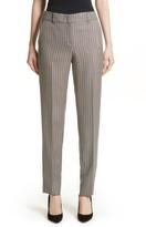 Armani Collezioni Women's Herringbone Slim Pants