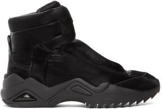 Maison Margiela Black New Future II High-Top Sneakers