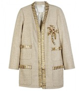 Marc Jacobs LUREX JACKET WITH EMBROIDERY