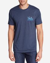 Eddie Bauer Men's Graphic T-Shirt - Glacier Kayak