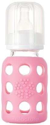 Lifefactory Baby Bottle Pink 120ml