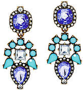 BaubleBar As Is Crystal Aztec Drop Earrings
