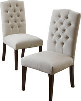 Asstd National Brand Bilson Set of 2 Tufted Dining Chairs