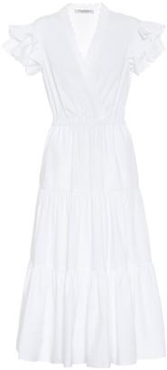 Philosophy di Lorenzo Serafini Cotton poplin midi dress