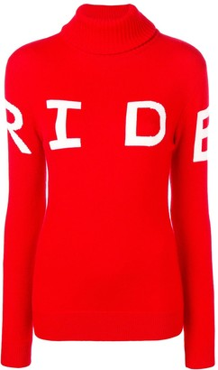 Perfect Moment Ride intarsia knit jumper