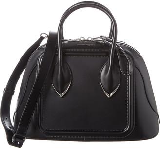Alexander McQueen Pinter Leather Shoulder Bag