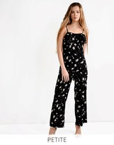 Glamorous Petite Printed Strappy Jumpsuit