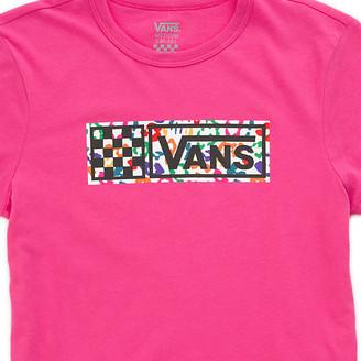 Vans Girls Rainbow Leopard Baby Tee
