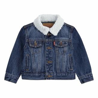 Levi's Big Boy's Sherpa Trucker Jacket Outerwear