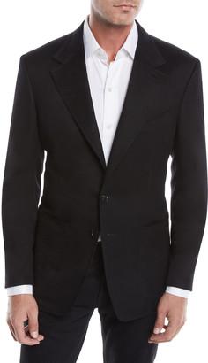 Tom Ford Men's Brushed Cashmere Solid Sport Jacket