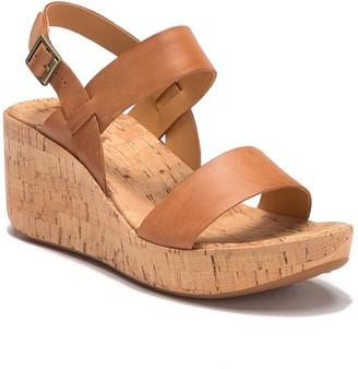 KORKS Tome Platform Wedge Sandal