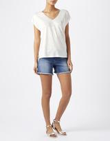 Monsoon Laney Linen T-Shirt