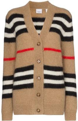 Burberry Icon Stripe knit cardigan