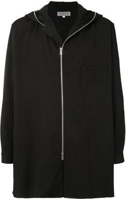 Yohji Yamamoto Oversized Zipped Hoodie