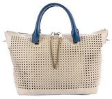 Chloé Perforated Leather Tote