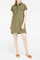 Alexander Wang Point-Collar Dress