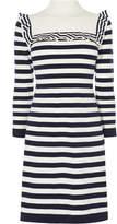 Karen Millen Breton Stripe Dress - Blue/multi
