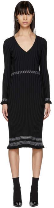 Altuzarra Black Isolde Dress