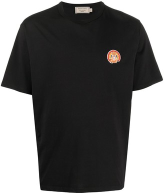 MAISON KITSUNÉ embroidered logo T-shirt