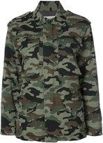 Nili Lotan camouflage cargo jacket - women - Cotton/Spandex/Elastane - XS