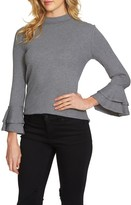 1 STATE Women's 1.state Bell Sleeve Top