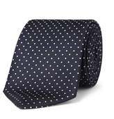 Turnbull & Asser - 8cm Polka-dot Silk Tie