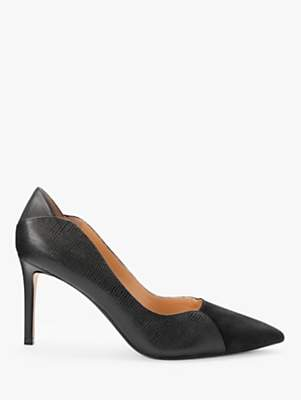 John Lewis & Partners Bayley Leather Stiletto Court Shoes