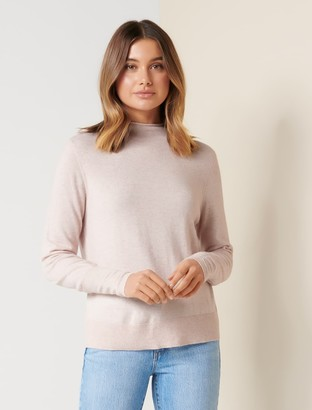 Ever New Serena Grown-On Neck Sweater