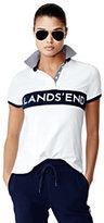 sport Women's Mesh Polo Shirt-Celestial Blue/White