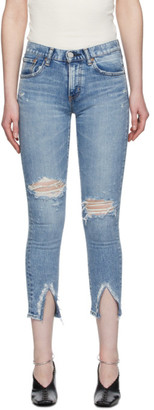 Moussy Blue Ithan Skinny Jeans
