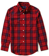 Ralph Lauren Big Boys 8-20 Plaid Woven Shirt